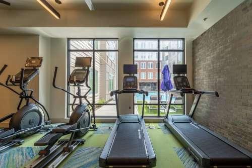 Gym, Workout Equipment, Treadmill, Edge on Washington