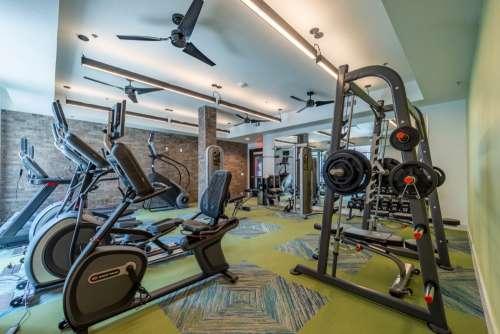 Gym, Workout Equipment, Edge on Washington